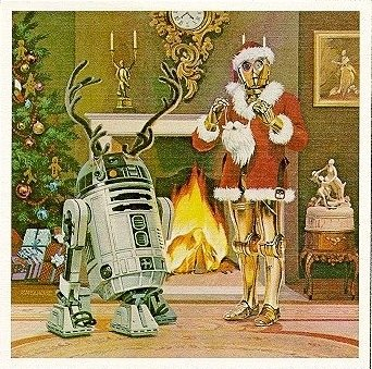 carte voeux lucasfilm star wars noel 03 Les cartes de voeux de Noël Star Wars de LucasFilm