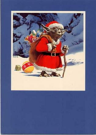 carte voeux lucasfilm star wars noel 05 Les cartes de voeux de Noël Star Wars de LucasFilm