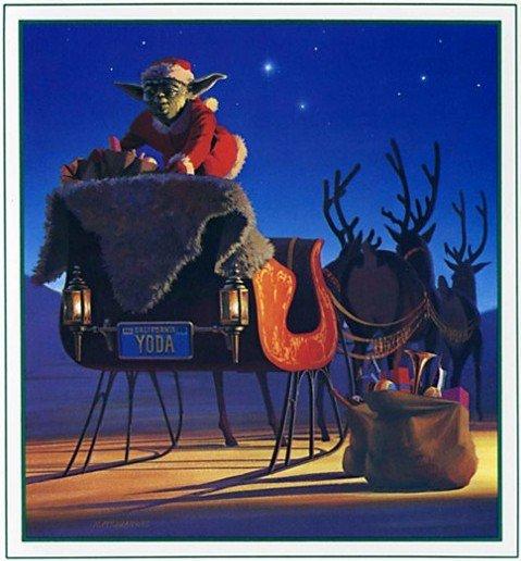 carte voeux lucasfilm star wars noel 07 Les cartes de voeux de Noël Star Wars de LucasFilm