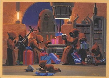 carte voeux lucasfilm star wars noel 12 Les cartes de voeux de Noël Star Wars de LucasFilm