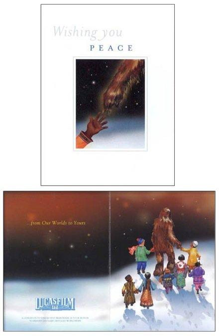 carte voeux lucasfilm star wars noel 19 Les cartes de voeux de Noël Star Wars de LucasFilm