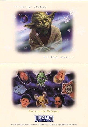 carte voeux lucasfilm star wars noel 20 Les cartes de voeux de Noël Star Wars de LucasFilm