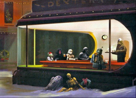 carte voeux lucasfilm star wars noel 25 Les cartes de voeux de Noël Star Wars de LucasFilm