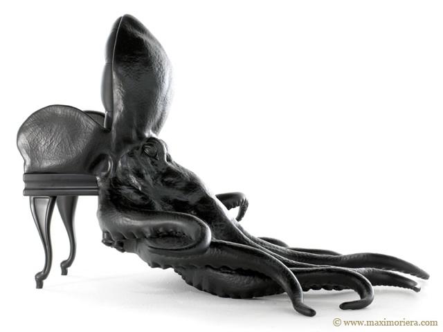 Chaise fauteuil animal pieuvre 03 la boite verte for Chaise qui vole