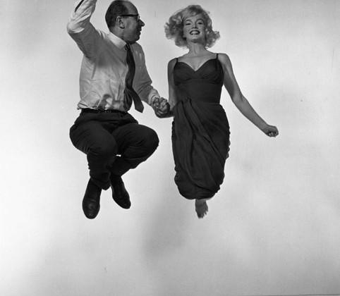 Marilyn Monroe et  Philippe Halsman
