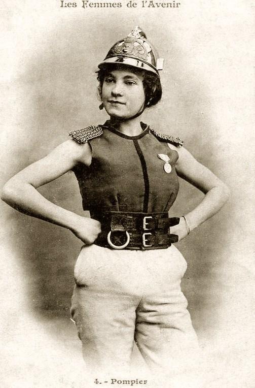 les femmes de lavenir phototypie bergeret 01 Les Femmes de lAvenir   1902