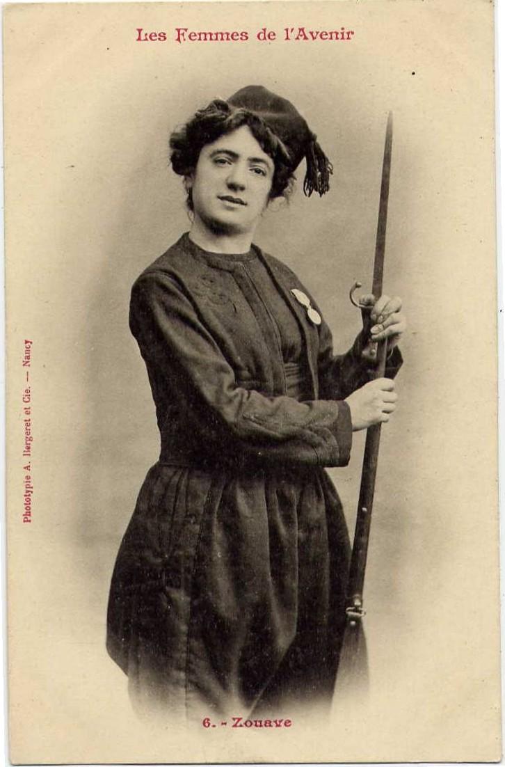 les femmes de lavenir phototypie bergeret 02 Les Femmes de lAvenir   1902