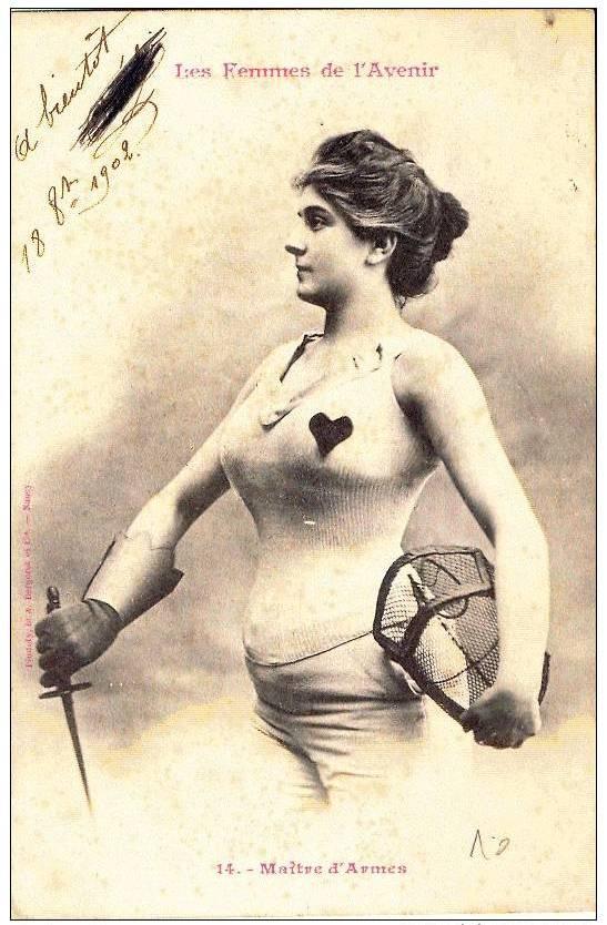les femmes de lavenir phototypie bergeret 03 Les Femmes de lAvenir   1902
