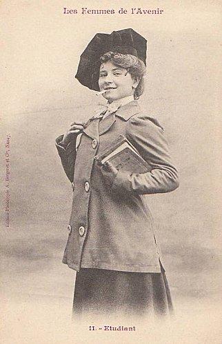 les femmes de lavenir phototypie bergeret 04 Les Femmes de lAvenir   1902
