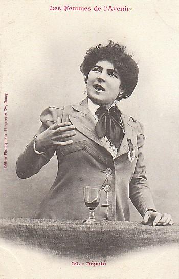 les femmes de lavenir phototypie bergeret 06 Les Femmes de lAvenir   1902