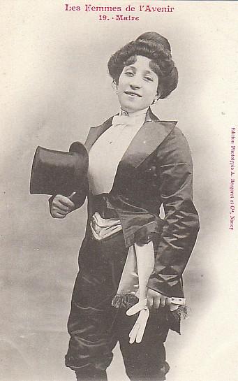 les femmes de lavenir phototypie bergeret 07 Les Femmes de lAvenir   1902