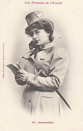 les femmes de lavenir phototypie bergeret 09 Les Femmes de lAvenir   1902