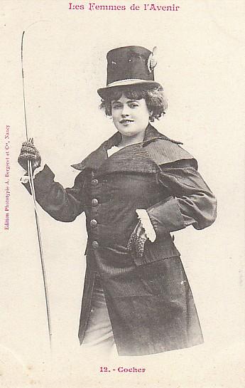 les femmes de lavenir phototypie bergeret 10 Les Femmes de lAvenir   1902