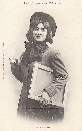 les femmes de lavenir phototypie bergeret 12 Les Femmes de lAvenir   1902
