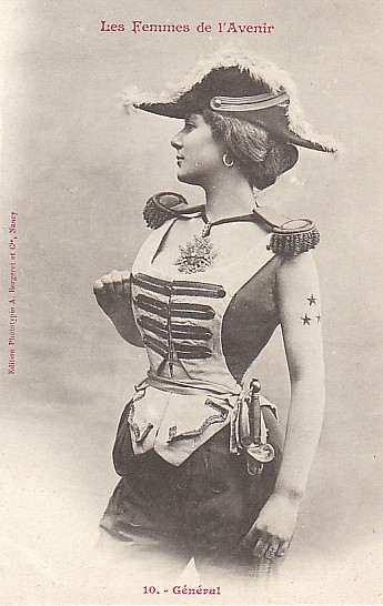 les femmes de lavenir phototypie bergeret 13 Les Femmes de lAvenir   1902