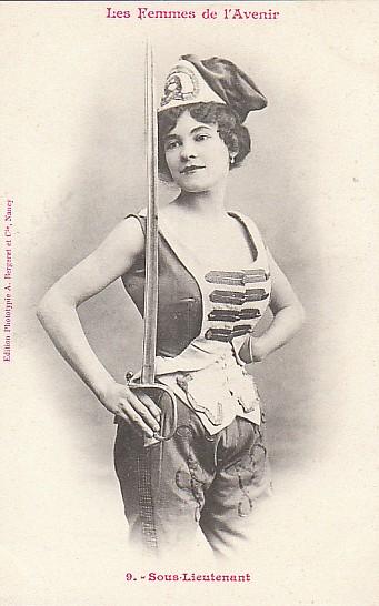 les femmes de lavenir phototypie bergeret 14 Les Femmes de lAvenir   1902