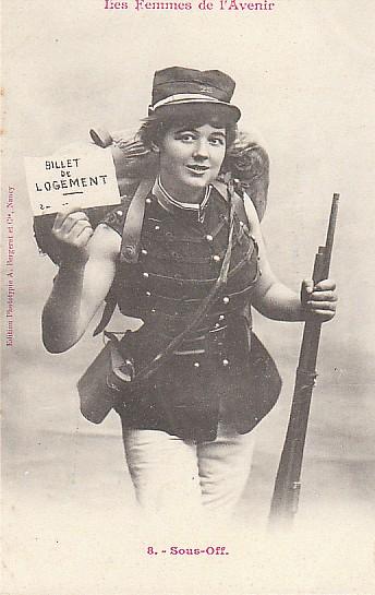 les femmes de lavenir phototypie bergeret 15 Les Femmes de lAvenir   1902