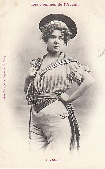 les femmes de lavenir phototypie bergeret 16 Les Femmes de lAvenir   1902