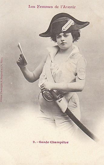 les femmes de lavenir phototypie bergeret 19 Les Femmes de lAvenir   1902
