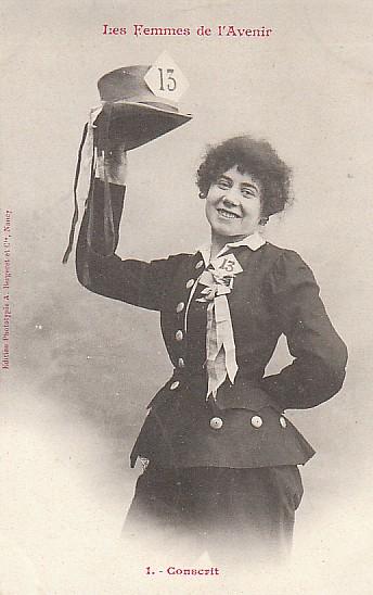 les femmes de lavenir phototypie bergeret 20 Les Femmes de lAvenir   1902