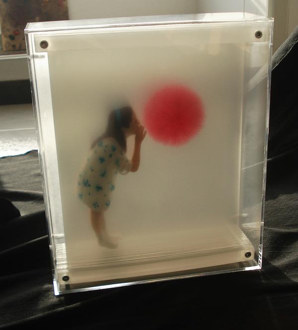 peinture volume plaque transparente 03 Peintures en volume sur plaques transparentes