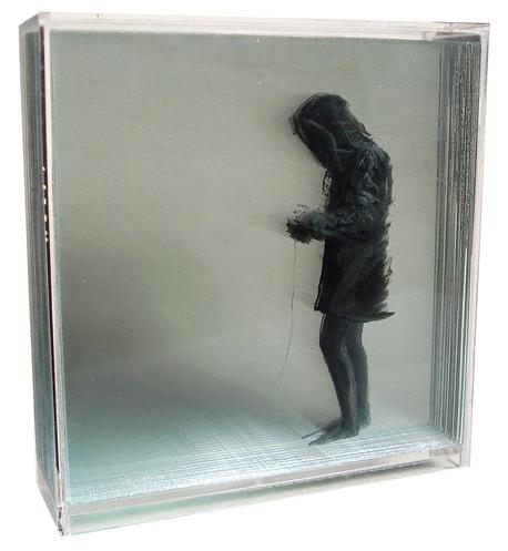 peinture volume plaque transparente 07 Peintures en volume sur plaques transparentes