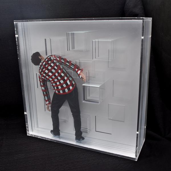 peinture volume plaque transparente 11 Peintures en volume sur plaques transparentes