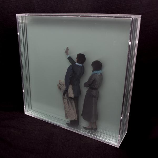 peinture volume plaque transparente 12 Peintures en volume sur plaques transparentes