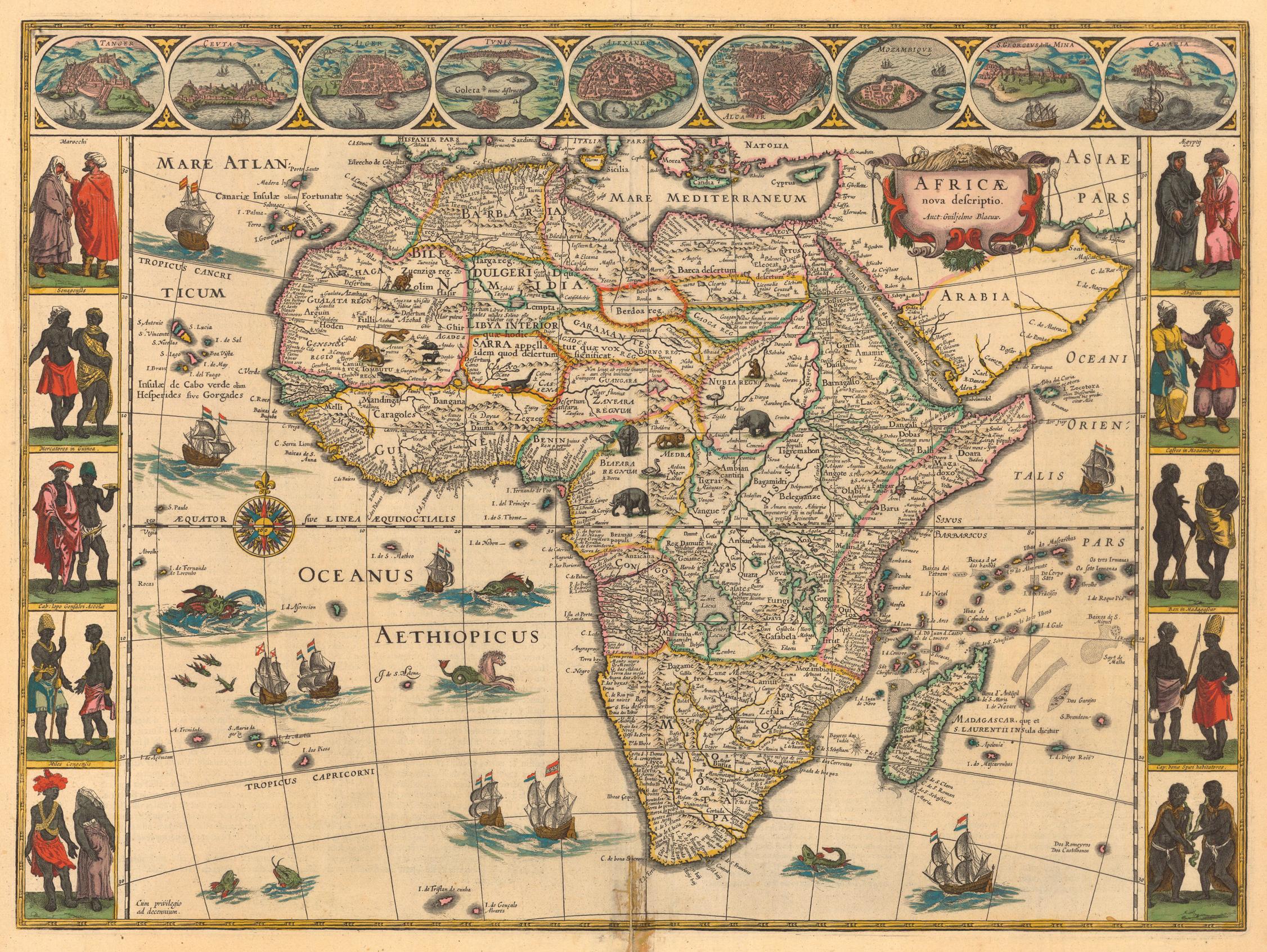 Evolution Des Cartes De L Afrique