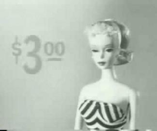 La première publicité pour Barbie
