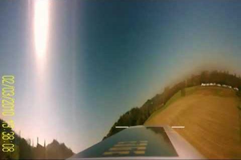 Le monde vu d'une pale d'hélicoptère