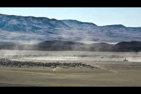 Timelapse de Burning Man 2011