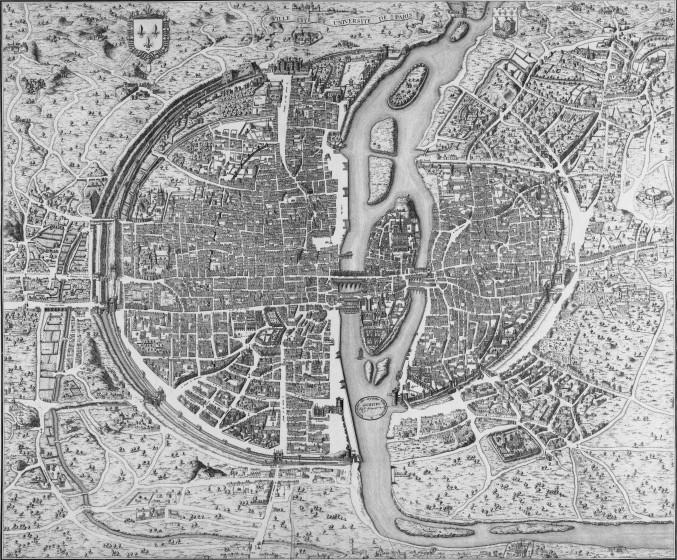 08 1550 StVictor1 677x560 Lhistoire de Paris par ses plans