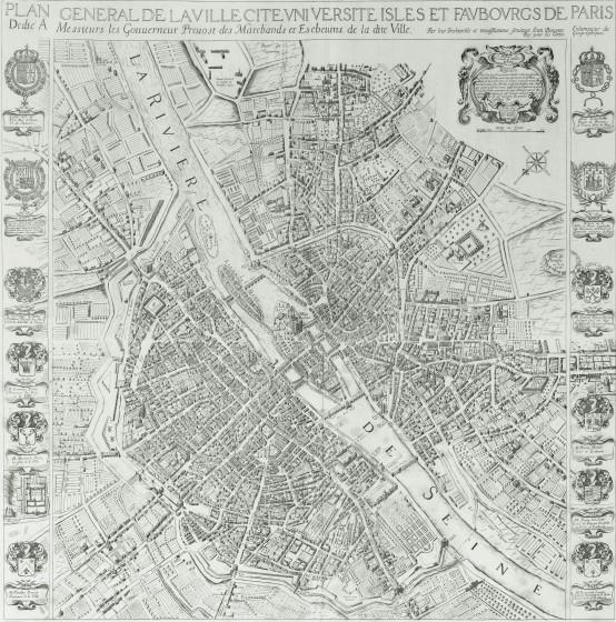 20 1654 Boisseau1 554x560 Lhistoire de Paris par ses plans