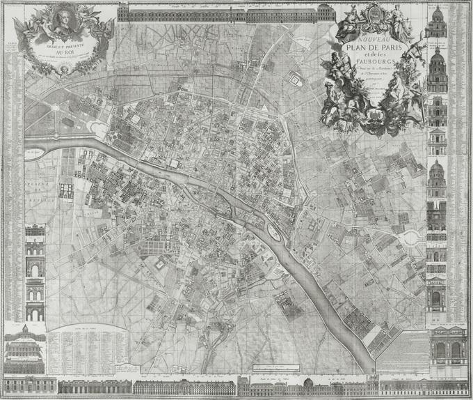 680px 28 1728 Delagrive Lhistoire de Paris par ses plans
