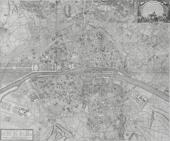 680px 35 1763 Deharme1 Lhistoire de Paris par ses plans