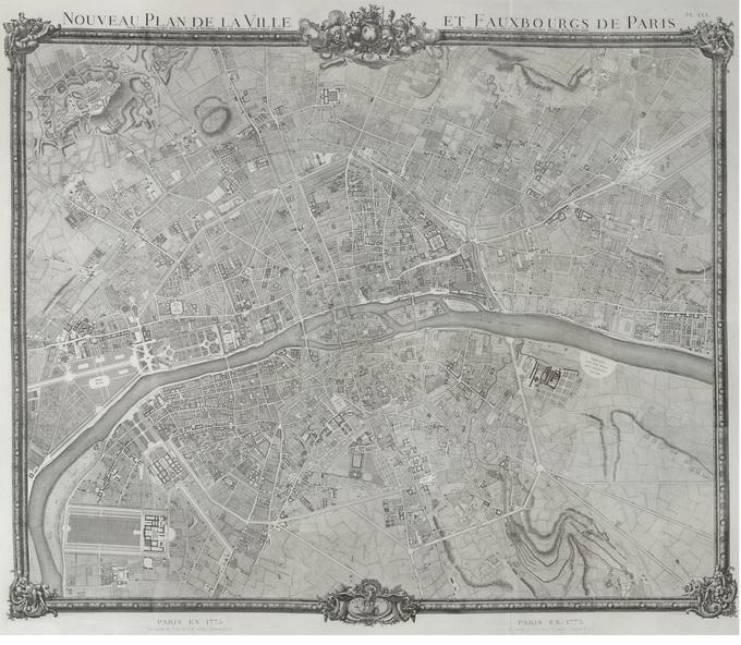 680px 37 1775 Jaillot Lhistoire de Paris par ses plans