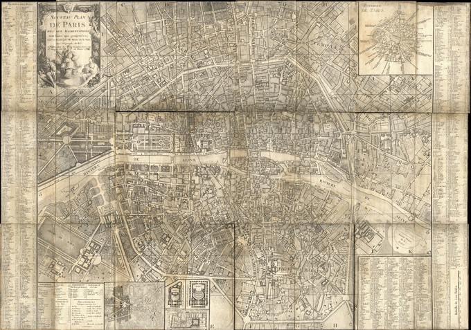 680px 38 Plan de Paris en 1787 par Brion de la Tour1 Lhistoire de Paris par ses plans