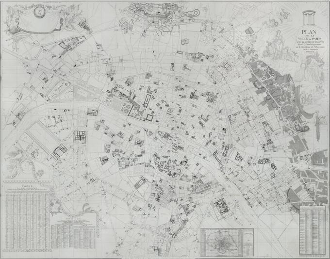 680px 39 1790 Verniquet Lhistoire de Paris par ses plans