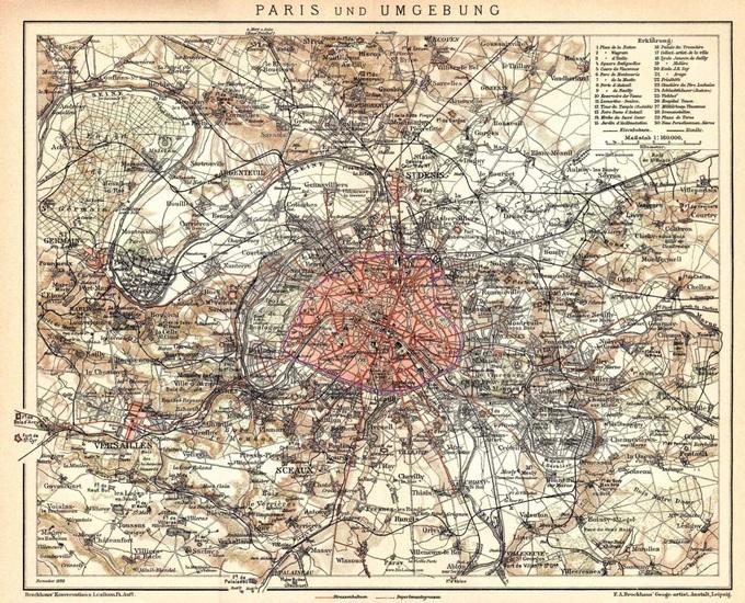 680px 54 paris petite ceinture 1898 Lhistoire de Paris par ses plans