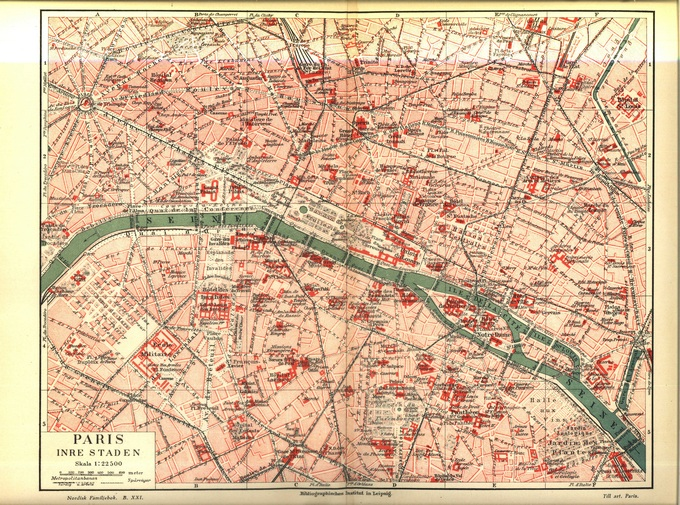 680px 55 Plan de Paris 1910 Lhistoire de Paris par ses plans