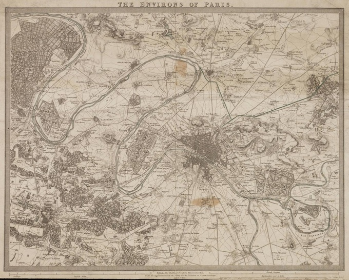 680px 59 historical map paris1 Lhistoire de Paris par ses plans