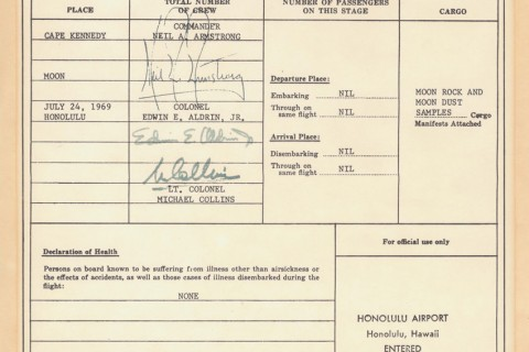 Apollo-11-Immigration-douane-formulaire