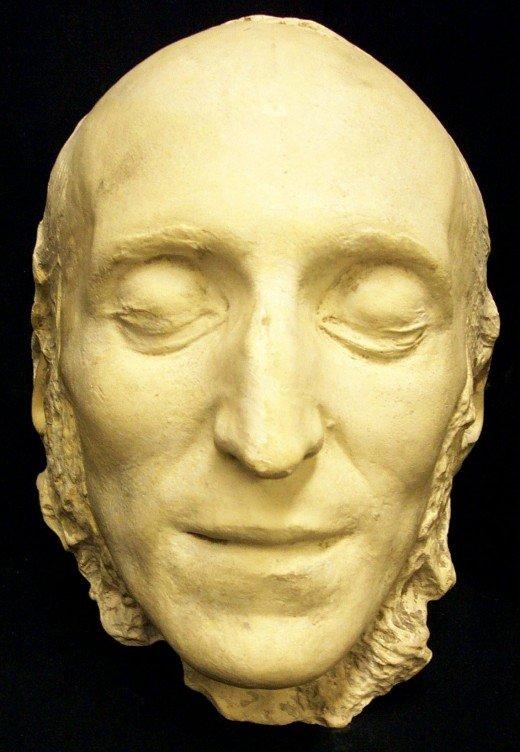 Préférence Masques mortuaires de personnages historiques DU98