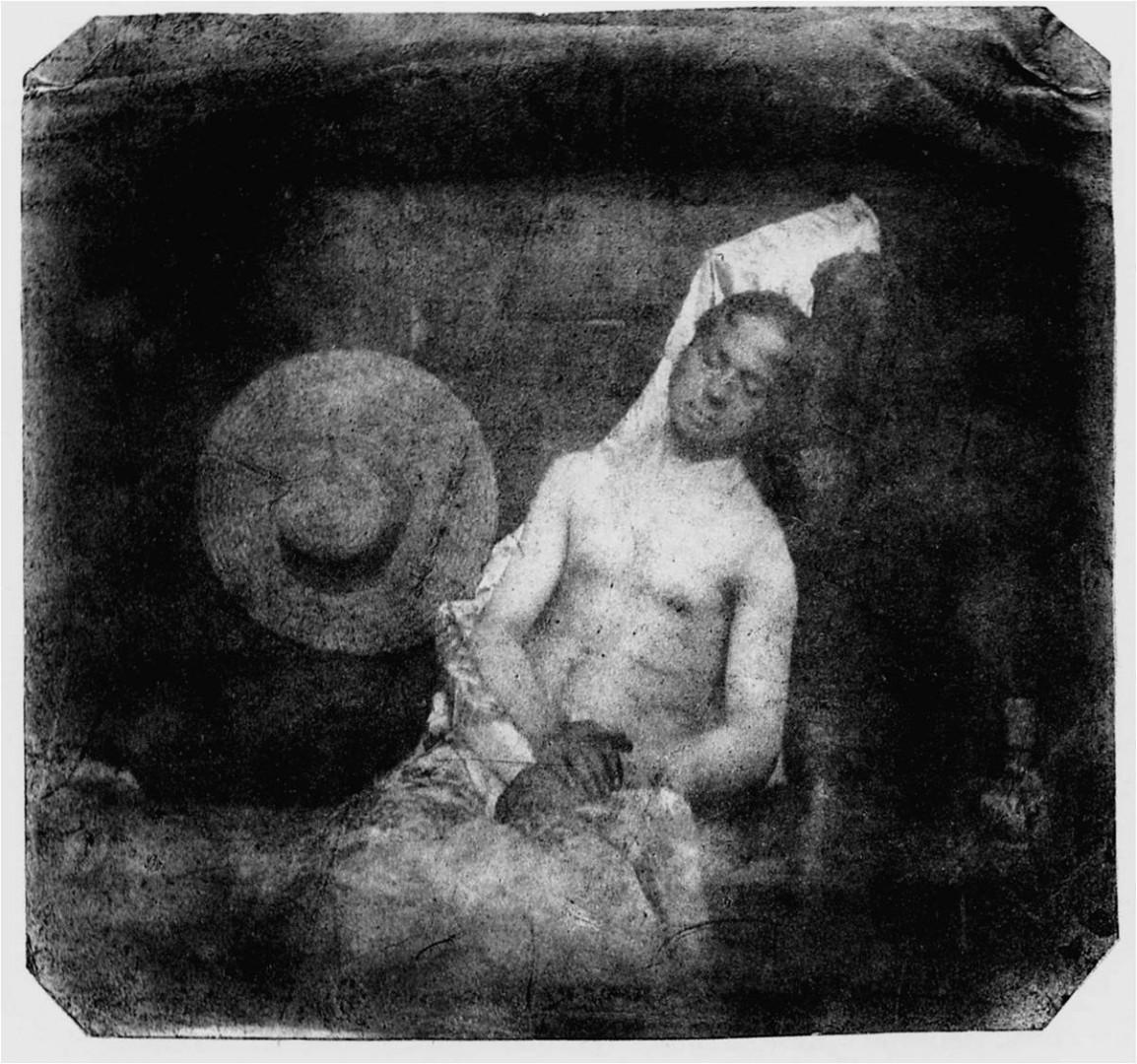 Hippolyte-BAYARD-1801-1887-Autoportrait-en-noye-1840-
