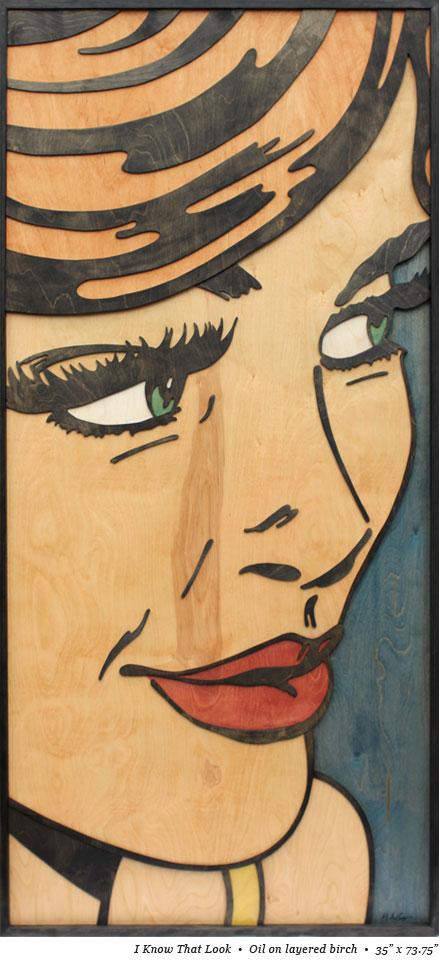 peinture strate bois 06 Peintures sur strates de bois  peinture 2 bonus art