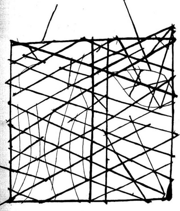 polynesie carte bois baton mer vague 01 Cartes polynésiennes de la houle en bouts de bois