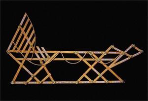 polynesie carte bois baton mer vague 05 Cartes polynésiennes de la houle en bouts de bois