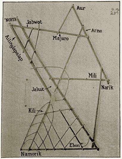 polynesie carte bois baton mer vague 10 Cartes polynésiennes de la houle en bouts de bois information histoire featured carte information