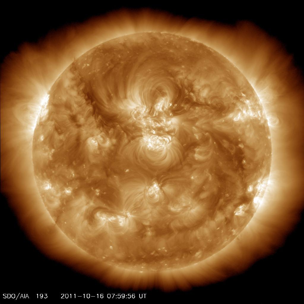 soleil sdo longeur onde 01 Différentes façons de voir le soleil